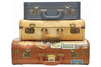 Travel Chic: How to Clean Vintage Luggage