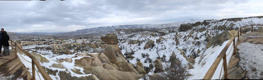 Cappadocia Turkey in winter. Max Hartshorne photo.