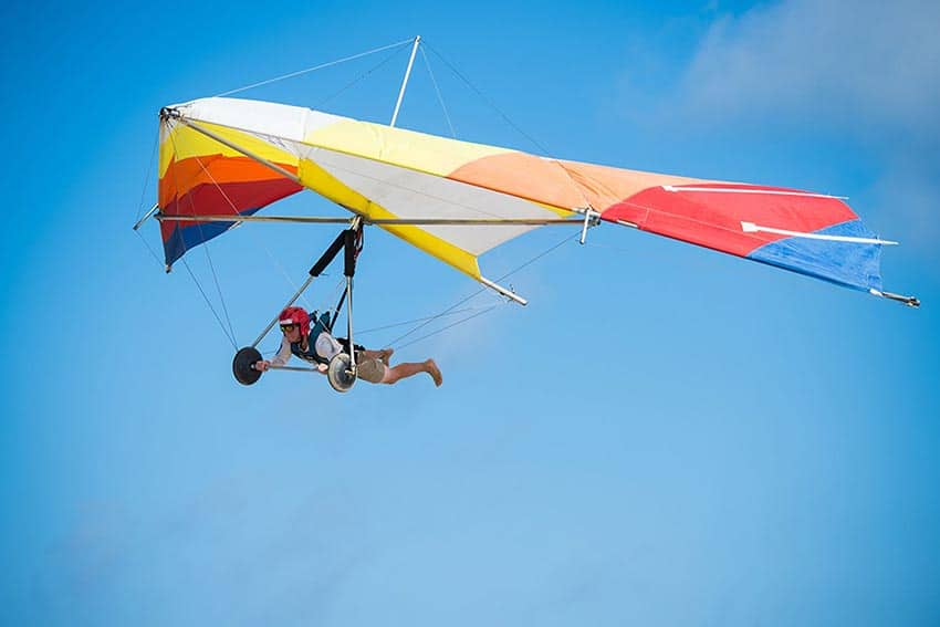 Hang Gliding in the Outer Banks
