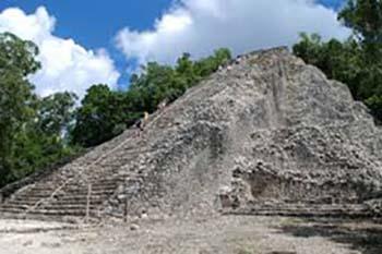 Mexico: Climbing Coba's Mayan Pyramids