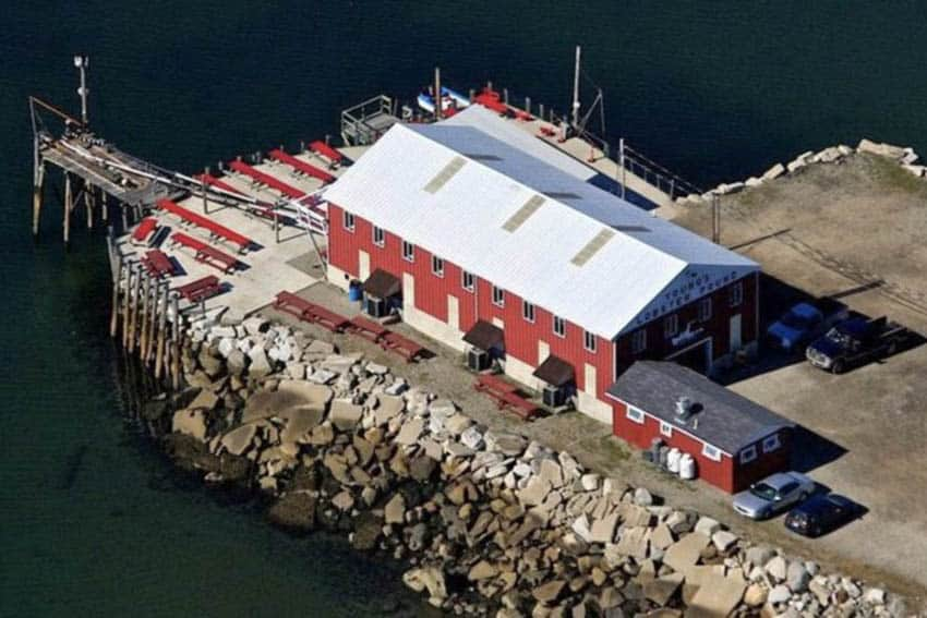 Young's Lobster Pound, Belfast Maine.
