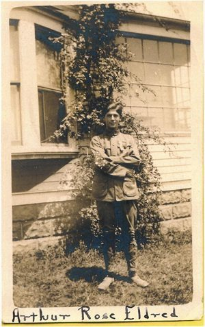 Arthur Eldred 1911 first Eagle Scout