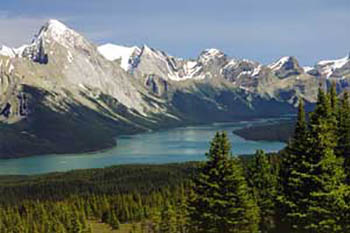 Jasper National Park and its Icefields