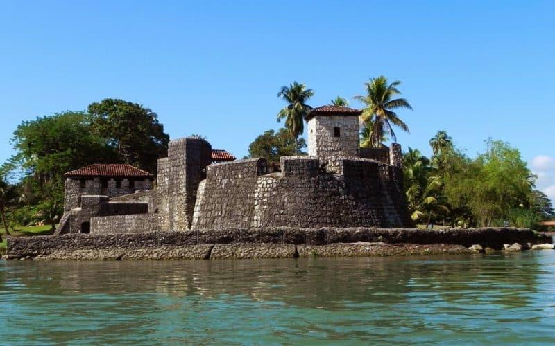 The Castillo de San Felipe de Lara, a Spanish colonial fort that sits at the entrance to eastern Guatemala's Lake Izabal. Photo courtesy of Enjoy Guatemala