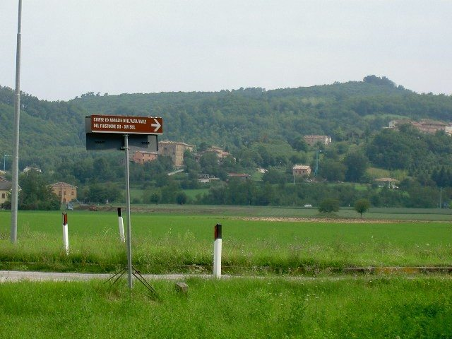 The scenery of Le Marche is so pretty, and there are very few tourists to be seen.