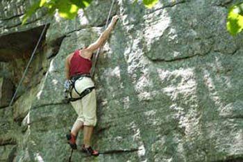 Climbing the Shawangunks in Upstate NY