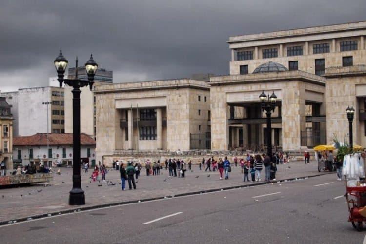 Coliseo Square, Bogota, Colombia. Max Hartshorne photo.