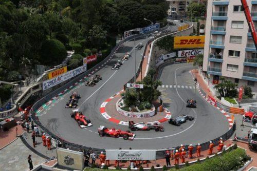 Monaco is famous for its city-wide Formula One race. Fairmont Monte Carlo photo.