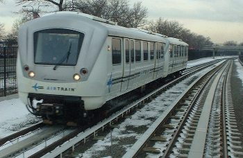 Getting to and from JFK on AirTrain is fast and easy. You can travel to Manhattan's Penn Station on the Long Island Rail Road in about 35 minutes and to most parts of New York City on the subway in about an hour. AirTrain JFK runs twenty-four hours a day, every day.