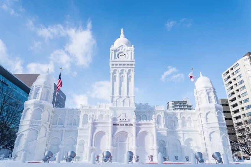 Japan: The Sapporo Snow Festival 1