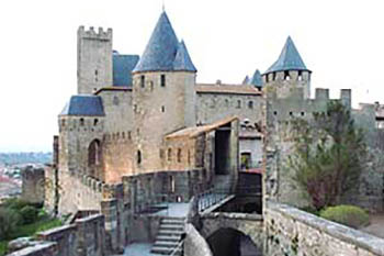 Touring Carcassone in the South of France