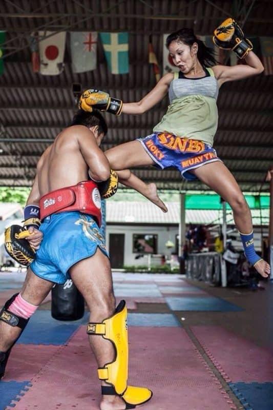 Muy Thai boxers in Thailand.