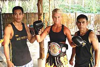 Kickboxing Like a Man in Thailand