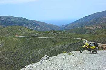 Motorcycling Across Crete Photo Gallery