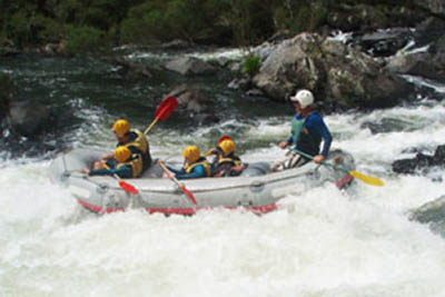 Australia: Rafting the Nymboida River