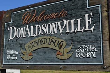 Donaldsonville, Louisiana: A Road Trip Back in Time