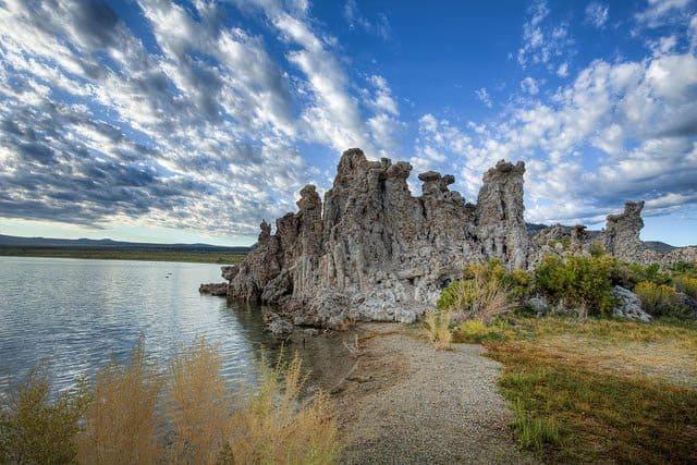 Mono Lake Tufa State Reserve, Vining, CA. Photo by Flickr user Albert de Bruijn