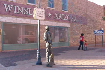 Winslow, Arizona: Standing on the Famous Corner