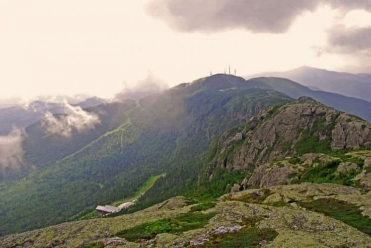 View from the summit of Mount Mansfield, Vermont's highest peak, 4,395 feet above sea-level. Photo by Pinaki Chakraborty.