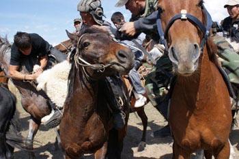 Dead Goat Polo: National Sport of Kyrgyzstan