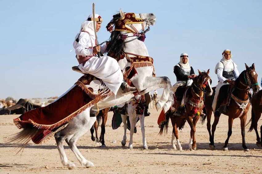 The Festival of the Sahara in Tunisia