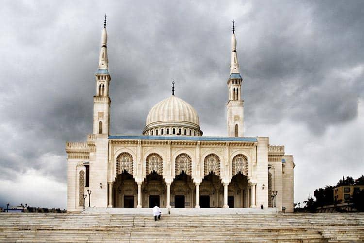 Mosque Emir Abdelkader in Constantine, Algeria. Photo by Didier Wuthrich.