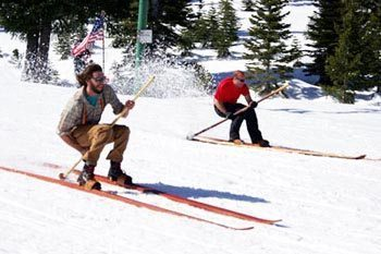 Longboard Races Commemorate California's Daredevil Gold Miners