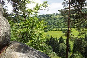 Wallachian Rocks on the Czech – Slovak Border