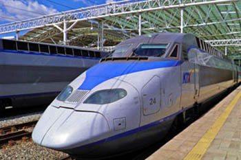 South Korea: Seoul to Busan by Bullet Train
