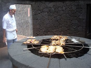 Volcano Cooking
