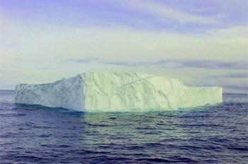 An iceberg in Newfoundland.