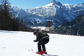 Piemonte, Italy: Breathtaking Vista on Skis in Via Lattea