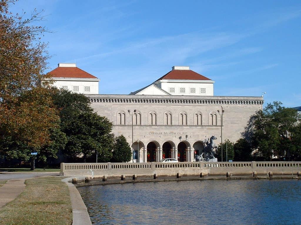 The Chrysler Museum, Norfolk Virginia.