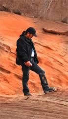Chuck Watchman, Navaho Guide