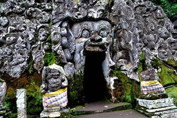 A Tryst in a 1000-Year Old Cave in  Bali