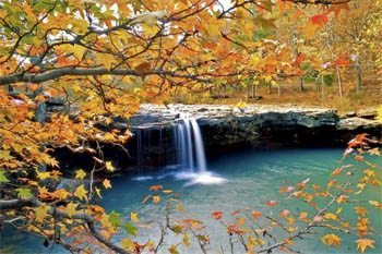Ozark Mountains in Arkansas: Home of Waterfalls