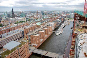 A Walking Tour of Polished Concrete: Hamburg's Futuristic Harbor City