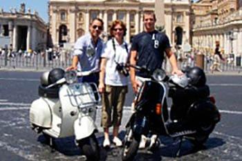 Many Ways to See Rome: Walking, Biking, Vespa, Bus and Boat