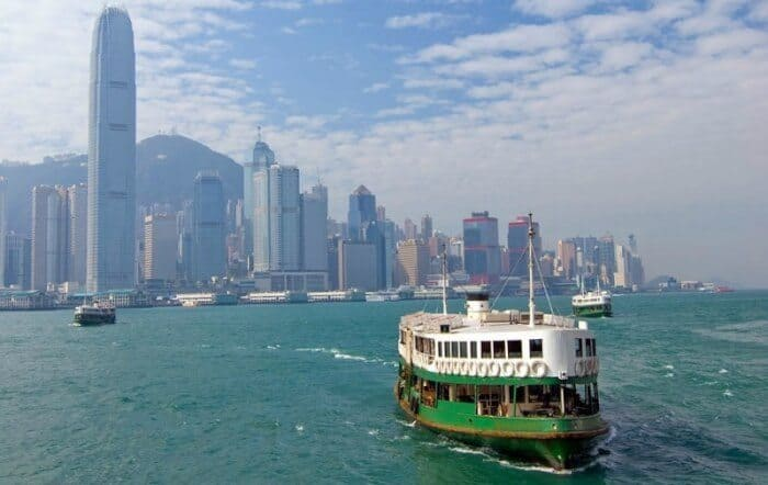 Hong Kong's Star Ferry is a treat for tourists and a part of work life for residents.