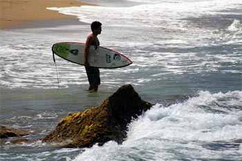 A Vacation in the Surf in Rincon Puerto Rico