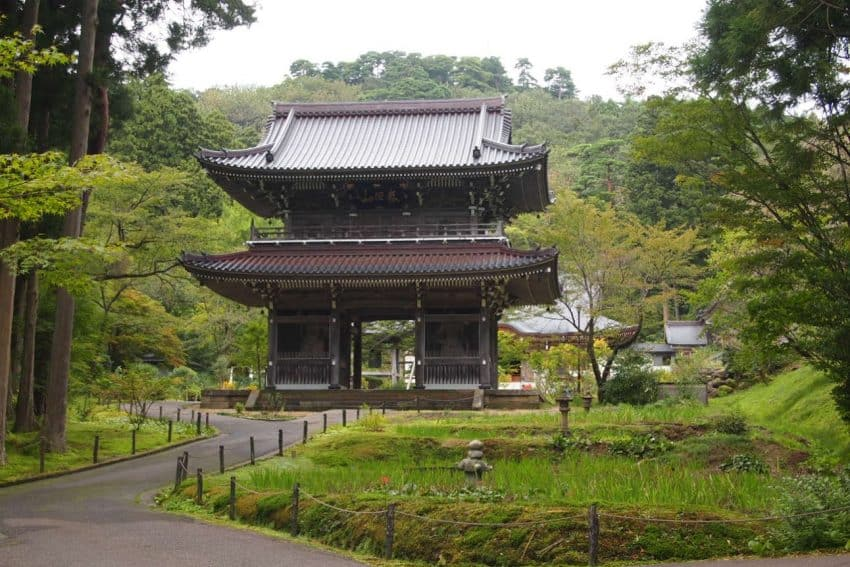 A temple in northern Japan.