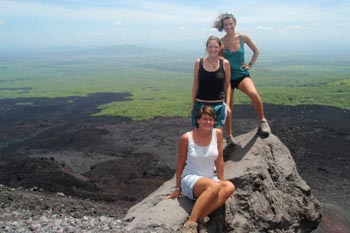 Elbows In, Knees Together: Volcano Boarding in Nicaragua