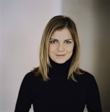 Author of The Sky is Metallic, Alicia Drake.