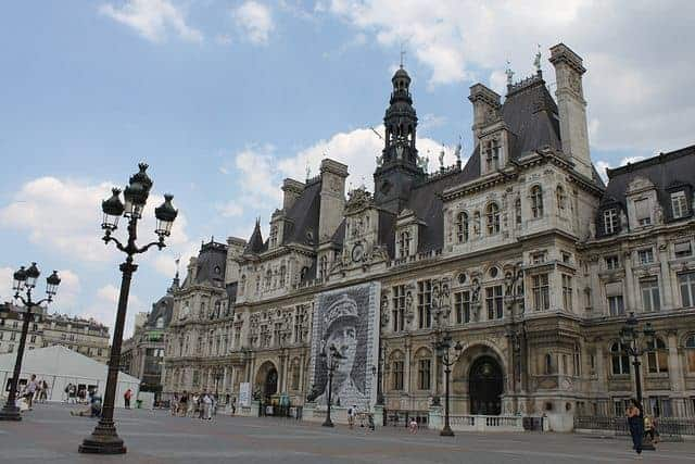 Hotel de Ville is the place where De Gualle announced the end of the occupation of France.