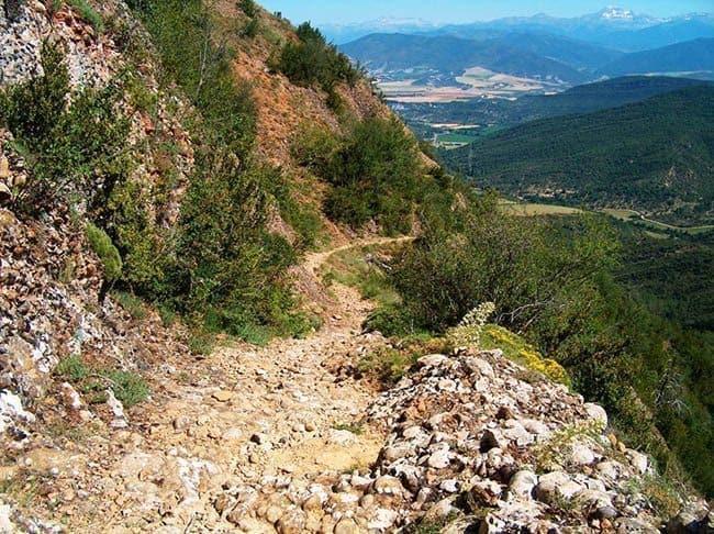 Path to Santa Cilia