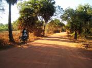 Biking in Auroville