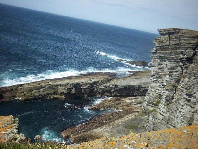 Bay of Skaill, Orkney Islands, Scotland. photos by Alexis Brett.