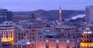 Beirut, Lebanon at 5am