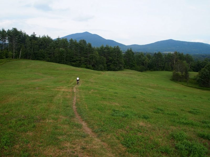 Kingdom Trails in East Burke Vermont is a legendary mountain biking location, with miles of smooth tracks down a mountain.