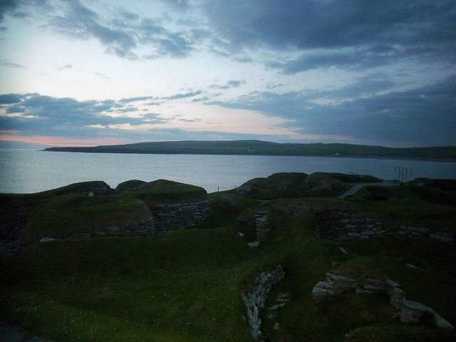 skara-brae-sunset